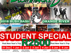 Student Special: Post New Years River Trip